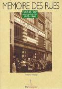 MEMOIRE DES RUES/PARIS 20e ARRONDISSEMENT/1900-1940