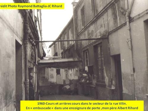 1960-Cours et arrières cours- Albert Rihard.jpg