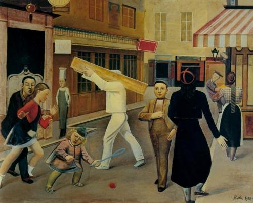 La Rue par Balthus.jpg