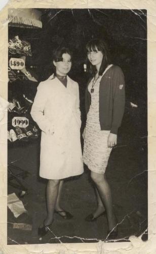 Josette et Liliane bd de Belleville 62-63.JPG