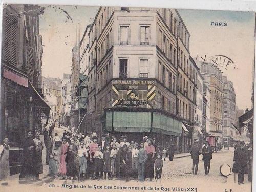 Rue Vilin- vers 1900.jpg