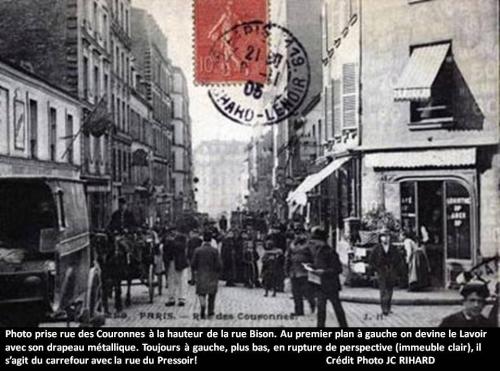 jean-claude rihard,suzanne rihard,lavoir,rue des couronnes,rue du pressoir,paris,vieux paris